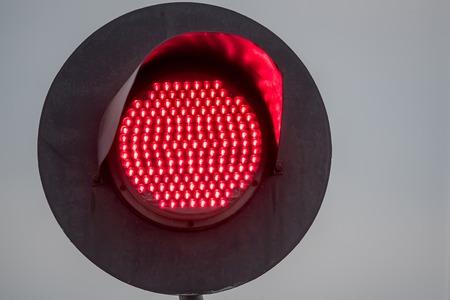 crossings: Railway traffic light Stock Photo