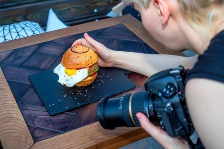 食品の写真家の職業