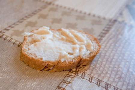 Appetizer made from horseradish and mayonnaise Stock Photo