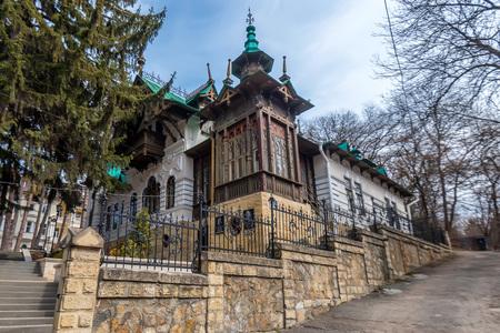 KISLOVODSK, RUSSIA - MAY, 2017: CHALIAPIN VILLA