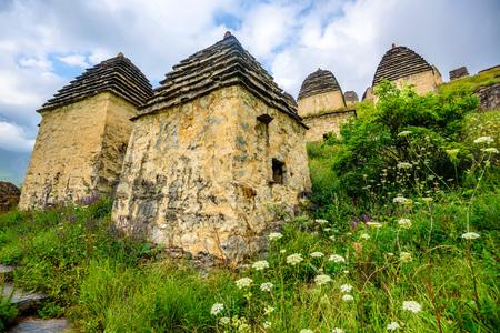 Ancient Alanian necropolis in North Ossetia