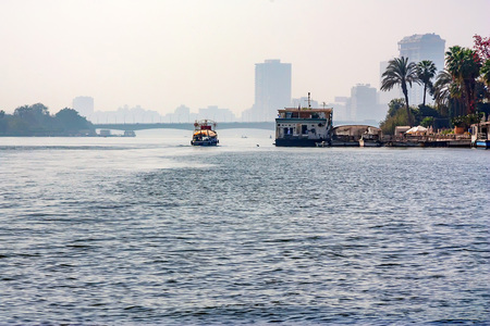 Cairo view from Nile