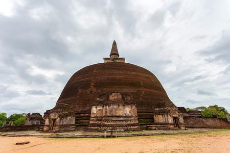 Ruins of Rankoth Vehera in Polonnaruwa