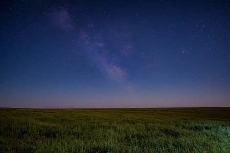 Night sky full of stars and milky way Stock Photo