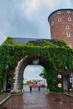KRAKOW, POLAND - JUNE, 2012: Bernardine Gate