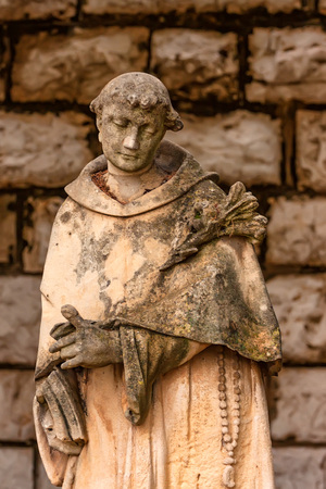 francis: St. Francis of Assisi statue