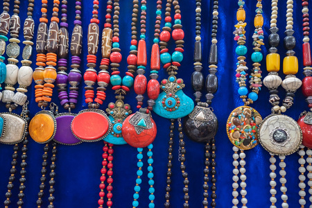 Souvenir beads in Indian style