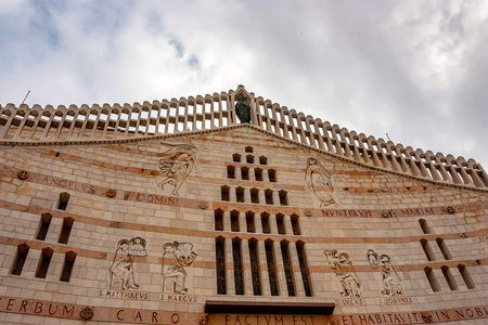 Facade of Basilica of the Annunciation, Nazareth