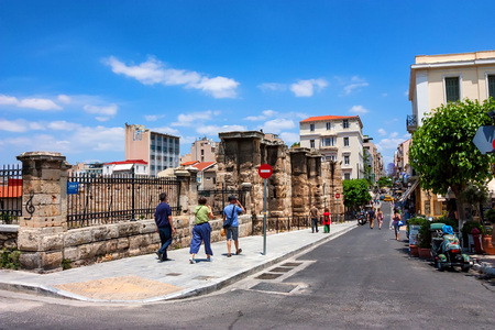 ATHENS, GREECE - JUNE, 2011: City streets