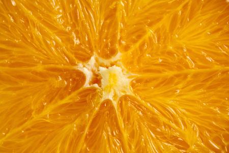 Orange macro texture