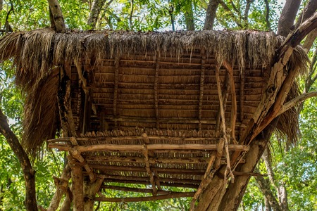 House of vedda people Stock Photo