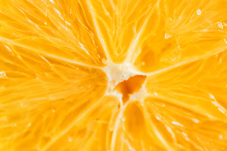 Lemon macro texture