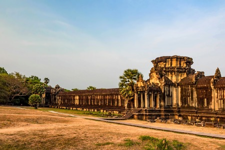 Temples of Angkor Wat in Cambodia
