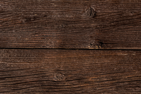 Dark wooden planks close up background