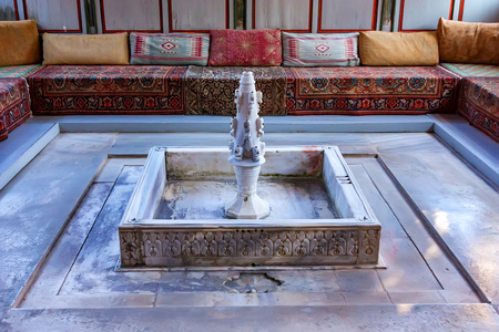 The fountain of tears in Bakhchisaray Palace, Crimea