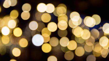 Abstract yellow holiday blurs Фото со стока