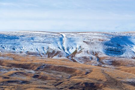 Late fall landscape of mountains in Lago-Naki, Russia Фото со стока - 136269028