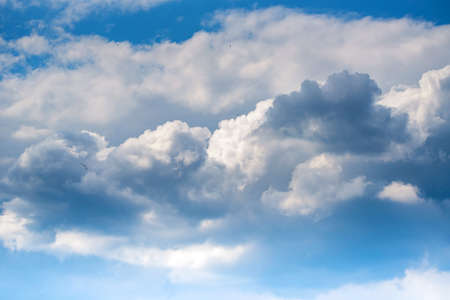 Beautiful natural background with skyscape and clouds Stok Fotoğraf