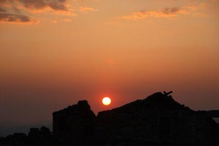 sierra: sierra sunset Stock Photo