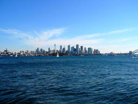 Sydney City Van Water View