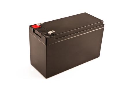 electrolytic: Acumulador unidad en blanco.