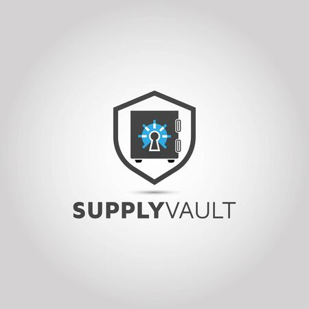 Vault Logo Designs | Security vector idea inspiration