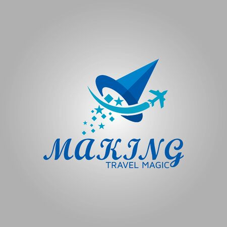 Creative magic logo design inspiration Çizim