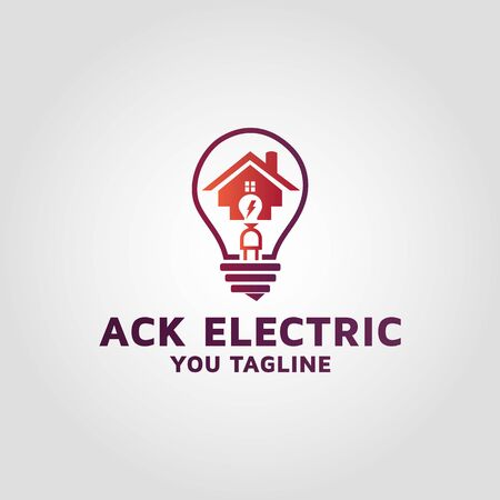 commercial electrical company logo design