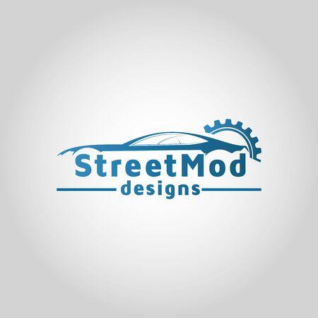 car service logo vector design template