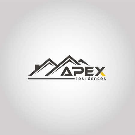 Letter APEX real estate logo template idea Logo
