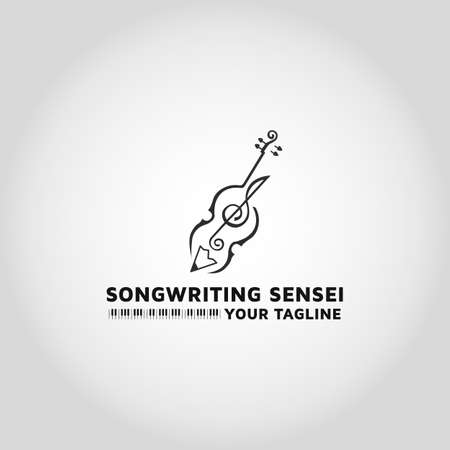 Song writer vector design Illustration