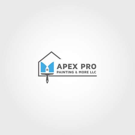 Residential Vector design template idea