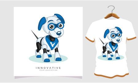 dog robot Classic T-shirt, Dog T Shirt Images, Stock Photos and Vectors