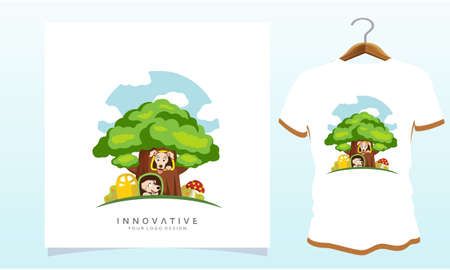 dog tree house, Dog T Shirt Images, Stock Photos and Vectors