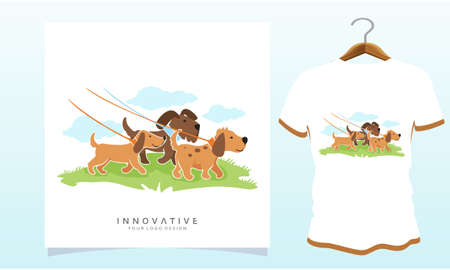 Going to the playground with the dog, Dog T Shirt Images, Stock Photos & Vectors