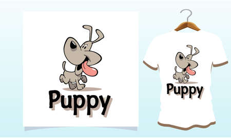 Funny Puppy dog t-shirt, Dog T Shirt Images, Stock Photos & Vectors