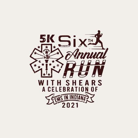 Annual Run custom t-shirt design