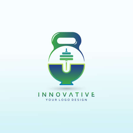 Medical and Pharmaceutical fitness logo design