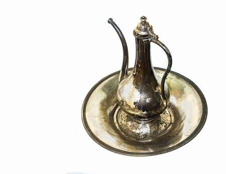 pitcher: antique pitcher Stock Photo