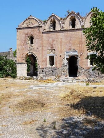 makri: ghost town church, Fethiye