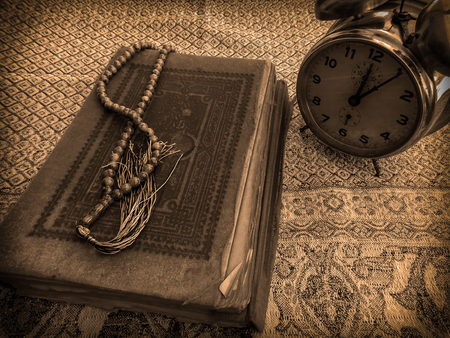 elapsed: The holy Quran Stock Photo