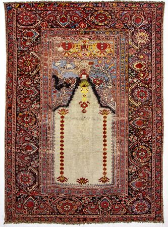 prayer rug: old, antique prayer rugs