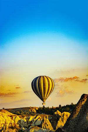 Hot air balloons (cappadocia,Turkey)