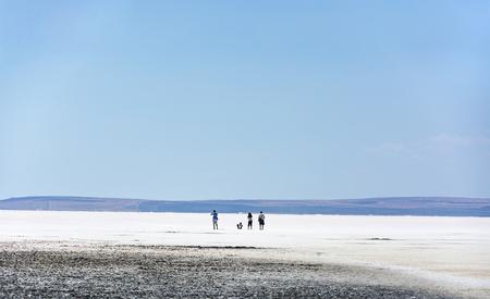 golu: Salt lake,(Turkey)