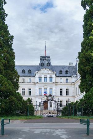 Prefecture building of the Haute-Savoie department, in Annecy. Archivio Fotografico - 105180207