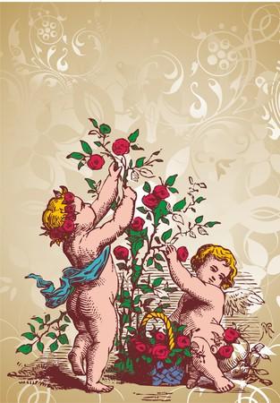 angel soul Illustration