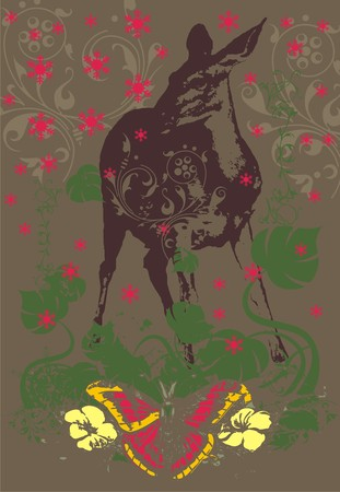 deer soul  Illustration