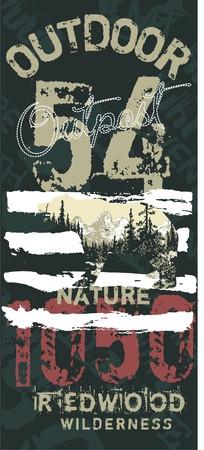 outdoor 54 Stock Vector - 6098977