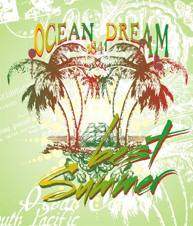 ocean dream  Stock Vector - 6087123