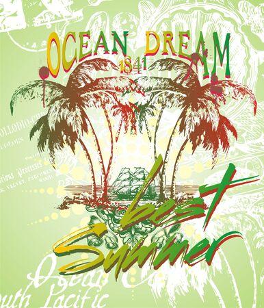 ocean dream  Illustration
